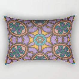 Mandala Mirror Rectangular Pillow