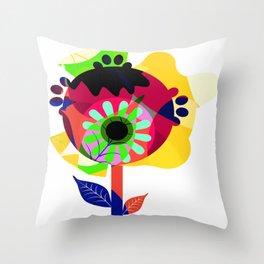 Fleurs 03 Throw Pillow