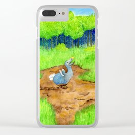 The Dodo Sinks Clear iPhone Case