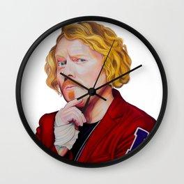 KEITH LEMON 2015 49cm x 71cm Prismacolor & Mixed Media Wall Clock