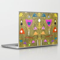 50s Laptop & iPad Skins featuring Retro Fantasy 50s by Beatrice Roberts