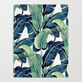Banana leaves Poster