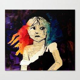 Le Miserables Collage Canvas Print