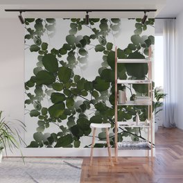 See through leaves Wall Mural