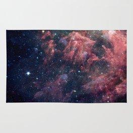 Nebula and Stars Rug