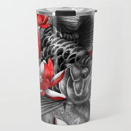 Arowana Dragon Fish Travel Mug