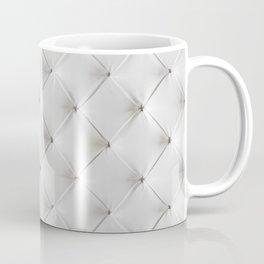 White Tufted Coffee Mug