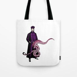 TROUSER TENTACLES OF DOOM! (slight variation) LINEART ILLUSTRATION Tote Bag