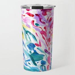 Abstract Roses 2 Travel Mug