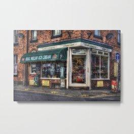 Ice Cream Shop Metal Print