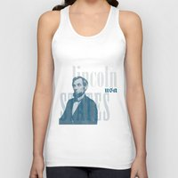 lincoln Tank Tops featuring Lincoln by Thomas Official