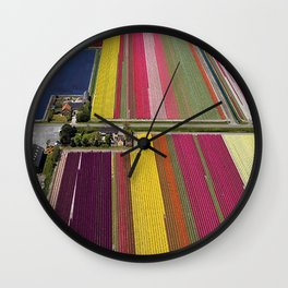 Louisa's Flower Farm Wall Clock