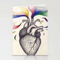 creativity Stationery Cards featuring Creativity by Kaylyn Powell