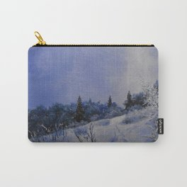 winter first comes in the mountain  Carry-All Pouch