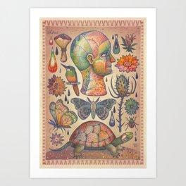 Rebus (The Ingredients) Art Print