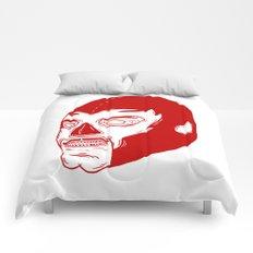 Red Luchador Comforters