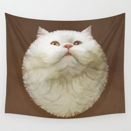 Round Cat - Yom Wall Tapestry