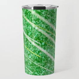 Green Streak Travel Mug