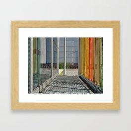 United Colors of Ozyegin Framed Art Print