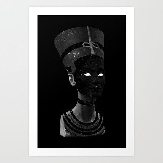 Nefertiti AD Art Print