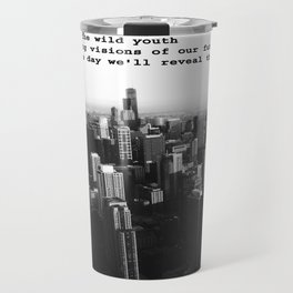 Youth in the City (buildings chicago) Travel Mug