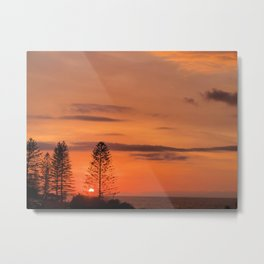 Kings Beach Sunrise Metal Print