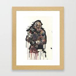 Cotto Framed Art Print