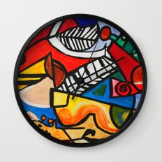 Endless Music Wall Clock