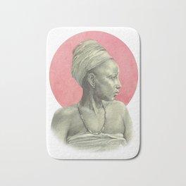 Sun Woman- Red Bath Mat
