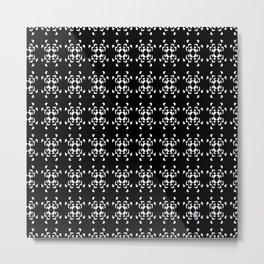 La Vida en Blanco y Negro 2 Metal Print
