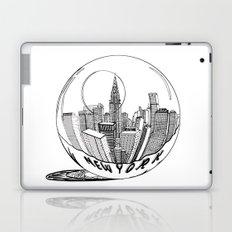 New York in a glass ball Laptop & iPad Skin