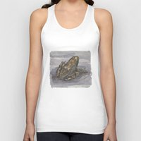 frog Tank Tops featuring frog by v0ff