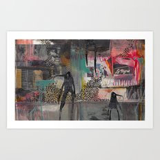 CREATURES TWO Art Print