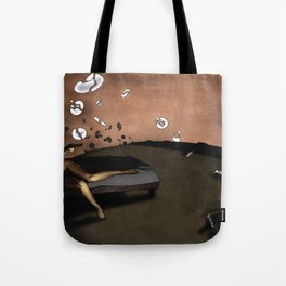SUNRISE WITH BROKEN PLATES (2004 version) Tote Bag
