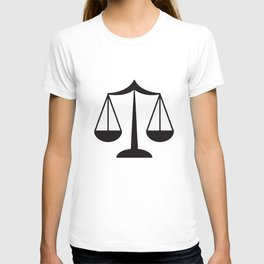 Law Scale Of Justice Women's Lawyer Office Occupation Career Law T-Shirts T-shirt