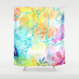 Posie Cluster Shower Curtain