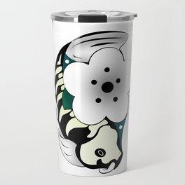 Skeleton koi Travel Mug