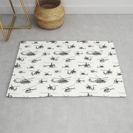 Helicopters Rug