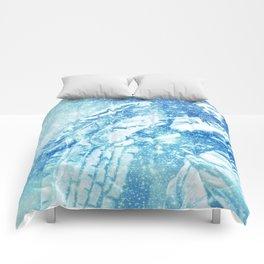 Celestial Guardian Angel Blue Comforters