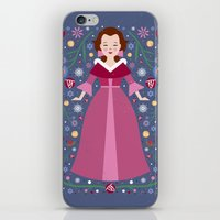 belle iPhone & iPod Skins featuring Belle by Carly Watts