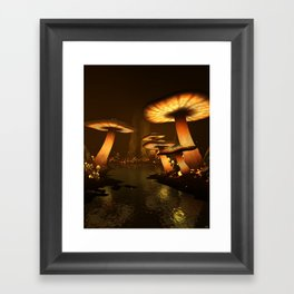 Enchanted Forest - Meltdown Framed Art Print