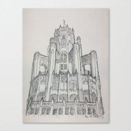 Chicago - Tribune Tower Canvas Print