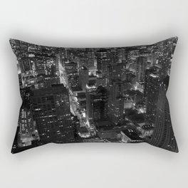 Chicago Lights Rectangular Pillow