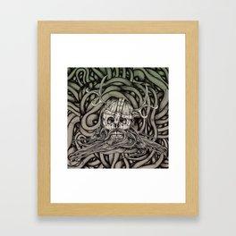 Old Viking Framed Art Print