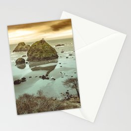 California Ocean West Coast Stationery Cards