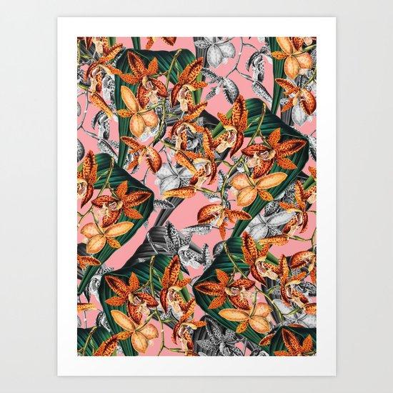 FLORAL PATTERN-07 Art Print