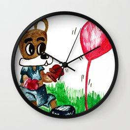 Love Fighter Wall Clock