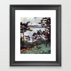 Landscape N. 5 Framed Art Print