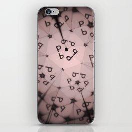Kaleidoscope ABC  P iPhone Skin
