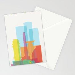 Shapes of Tel Aviv Stationery Cards